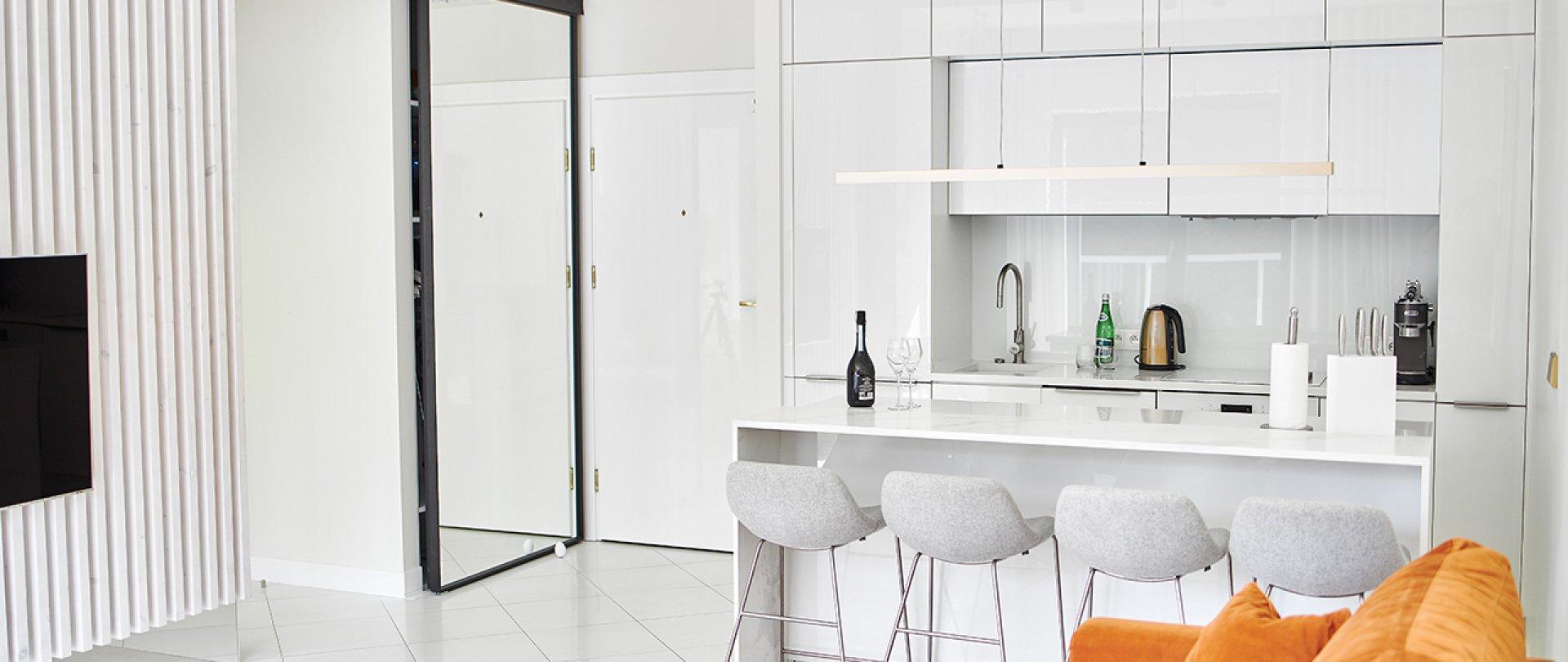 Apartament B104 z jedną sypialnią
