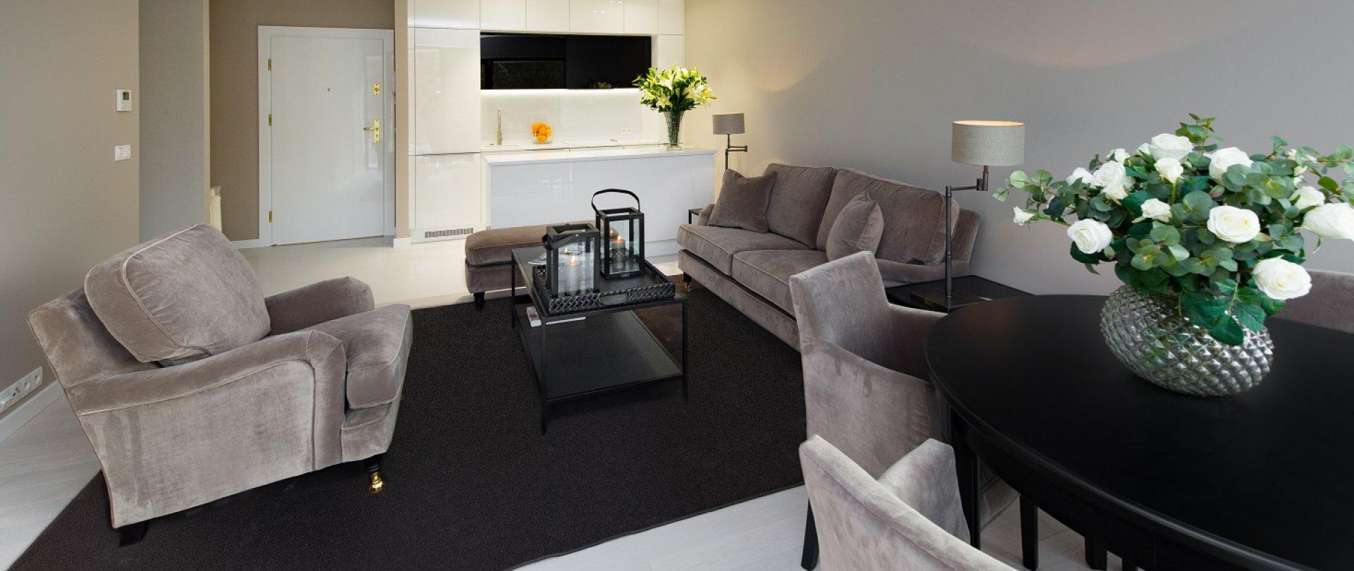 Deluxe Ein-Schlafzimmer-Apartment