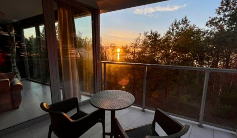 Two bedroom front B217 apartment with a view of dunes and a partial sea view