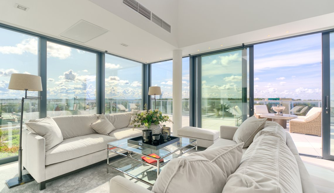 Penthouse 5.04 C z widokiem na morze