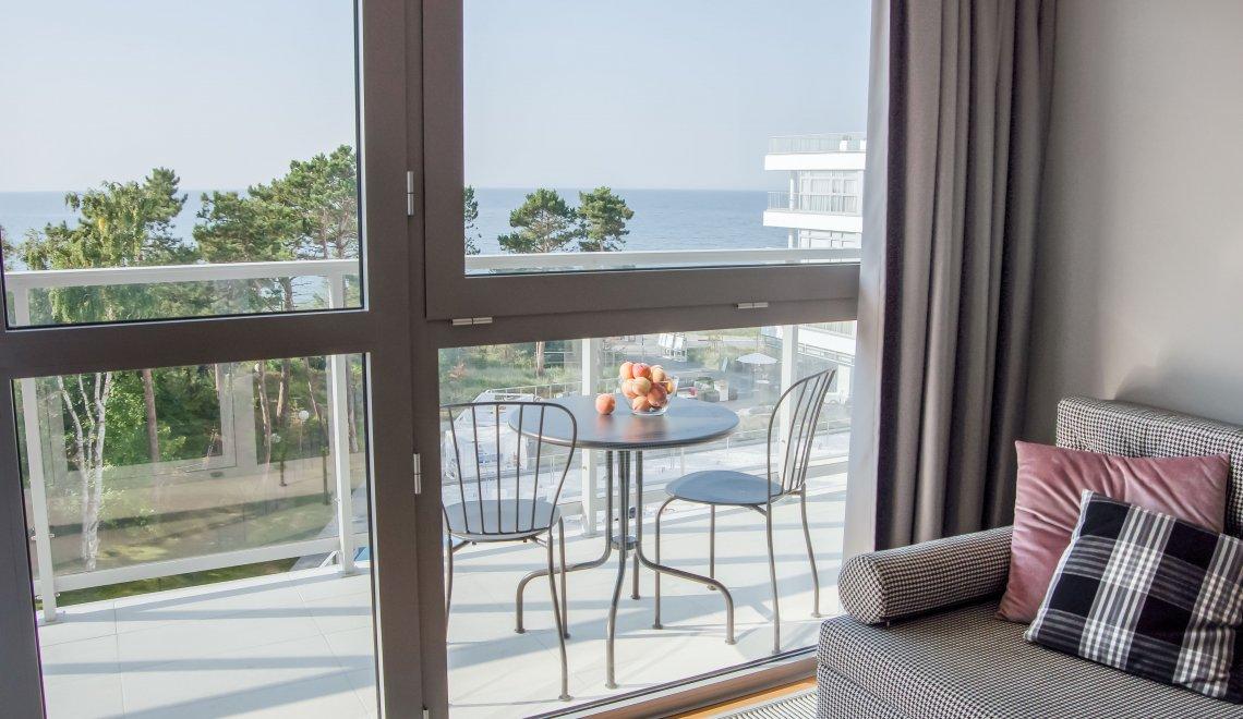 Apartament 4.13 A z widokiem na morze