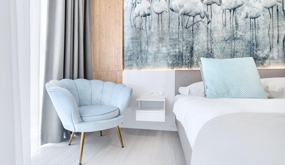 Apartament z 1 sypialnią 3.12 B z bocznym widokiem na morze