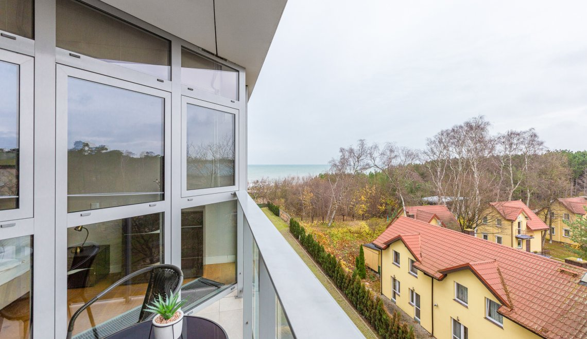 Apartament z 1 sypialnią  3.08 A z częściowym widokiem na morze