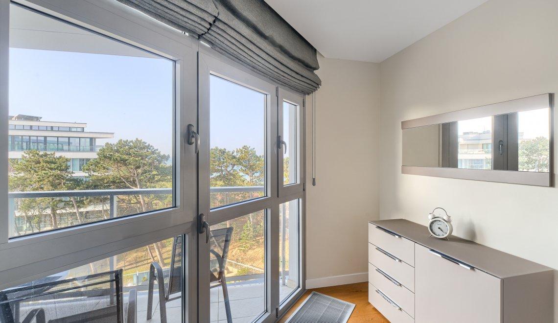 Apartament z 1 sypialnią 4.19 A z widokiem na morze