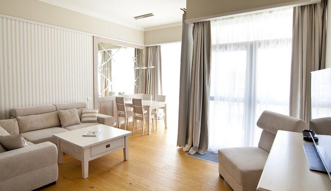Apartament z 1 sypialnią 2.15 A z widokiem na morze