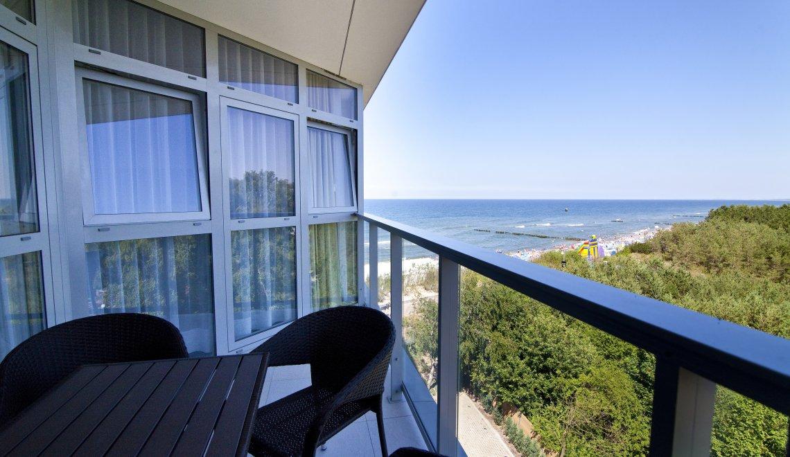 Apartament z 1 sypialnią 4.02 A z widokiem na morze