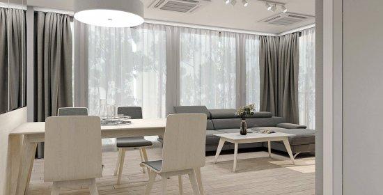 Apartment Deluxe mit 1 Schlafzimmer 3.08 C und seitlichem Meerblick