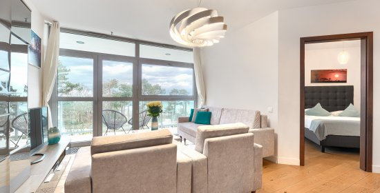 Two-bedroom Apartment 3.13 A with sea view