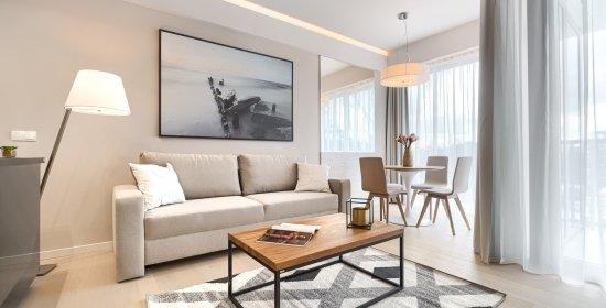 Apartament Deluxe z 1 sypialnią 3.11 C z widokiem na morze