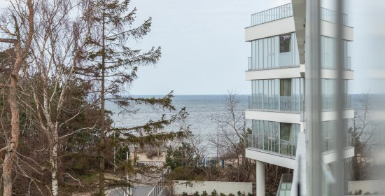 One-bedroom Deluxe Apartment 3.08 C with partial sea view