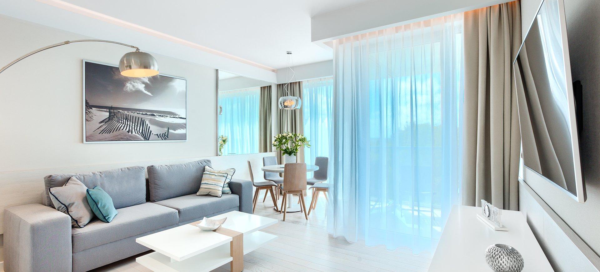 Apartament Deluxe z 1 sypialnią 4.04 B z widokiem na morze
