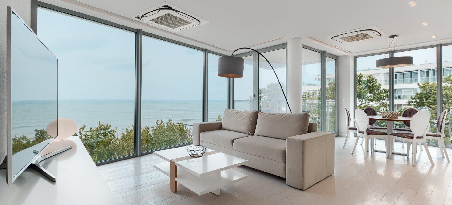 Apartament 4.17 B z frontowym widokiem na morze