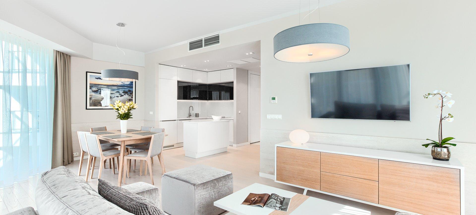 Apartament Deluxe z 2 sypialniami 3.10 B z  widokiem na morze
