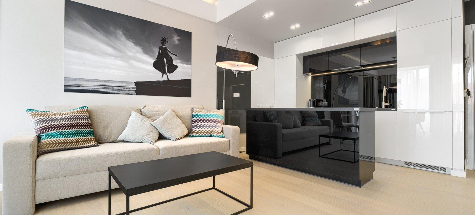 Apartament Deluxe z 1 sypialnią 2.05 C