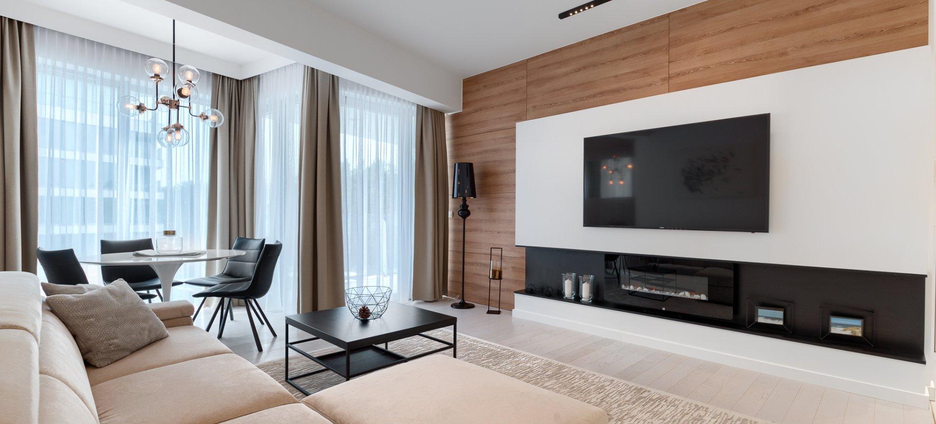 Apartament Deluxe z 1 sypialnią 2.15 B z widokiem na dziedziniec