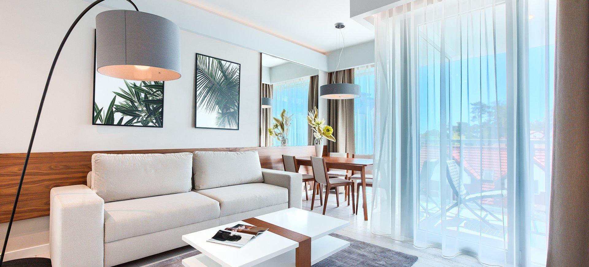 Apartament Deluxe z 1 sypialnią 2.27 B