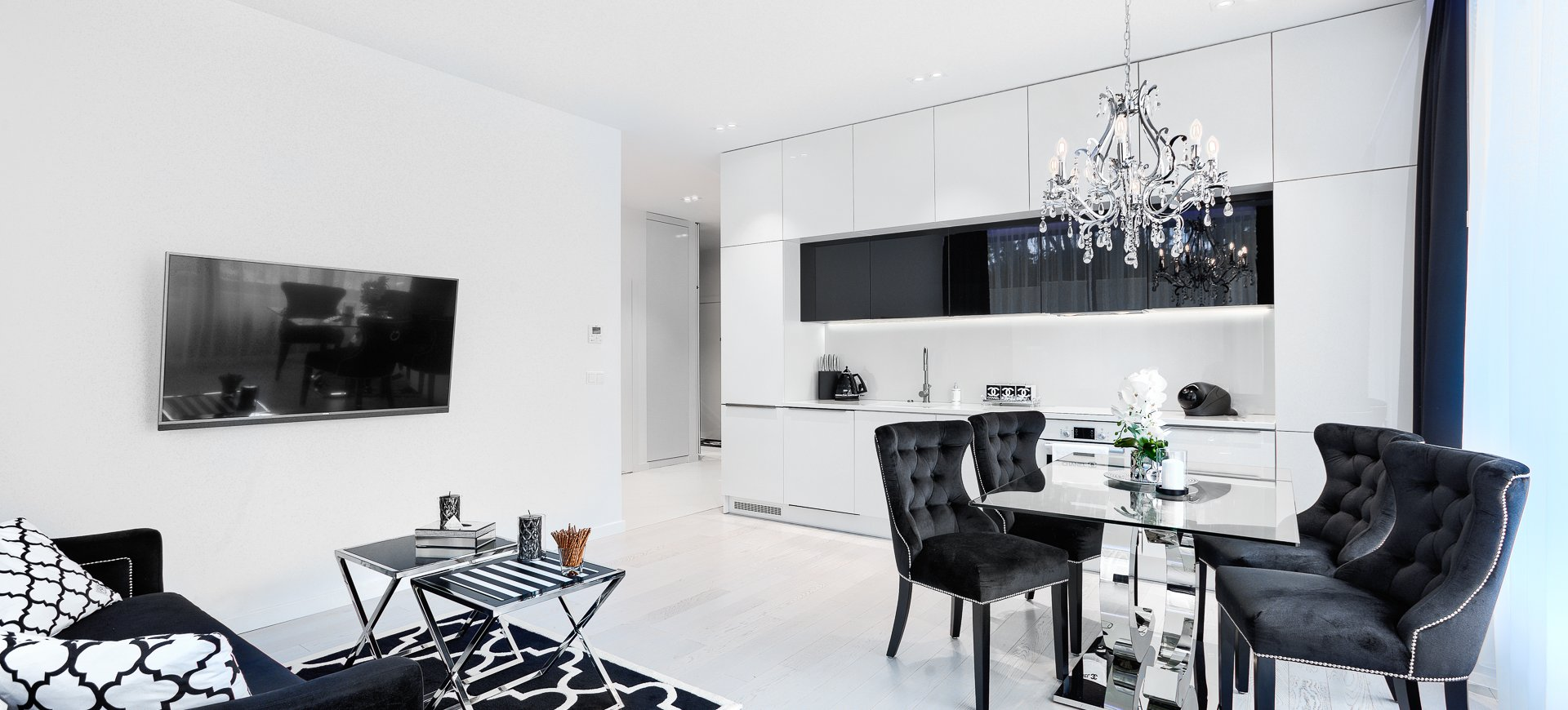 Apartament Deluxe z 1 sypialnią 0.10 B z wyjściem na ogródek
