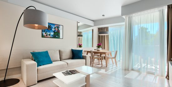 One-bedroom Deluxe Apartment 2.05 B with partial sea view