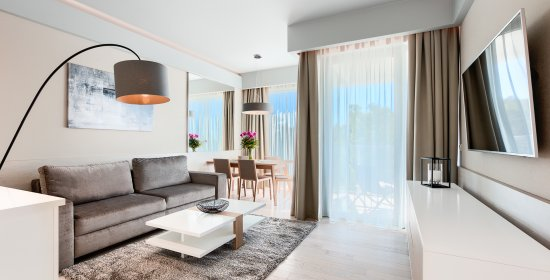 One-bedroom Deluxe Apartment 3.04 B with sea view
