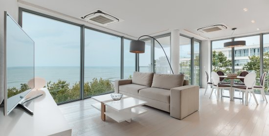Two-bedroom Apartment 4.17 B with frontal sea view