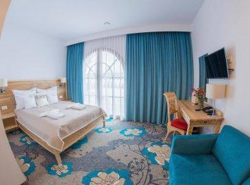 Pokój jednosobowy Typu Comfort z łóżkiem małżeńskim