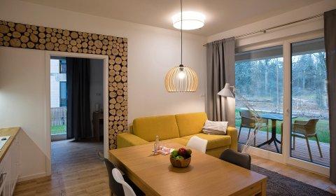 Apartament 3 pokojowy (6osób)