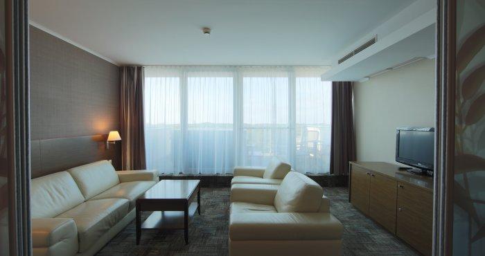 Apartament 2 pokojowy z Jacuzzi®  na tarasie i widokiem na morze