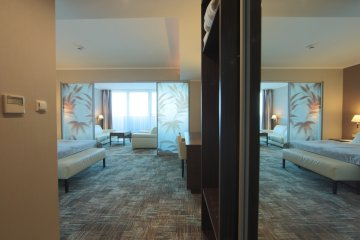 2-Zimmer-Wohnung mit Jacuzzi® auf der Terrasse