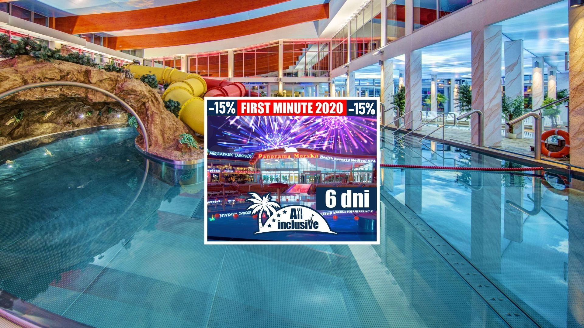New Year's Eve Stay 2020/2021 All inclusive - 6 days