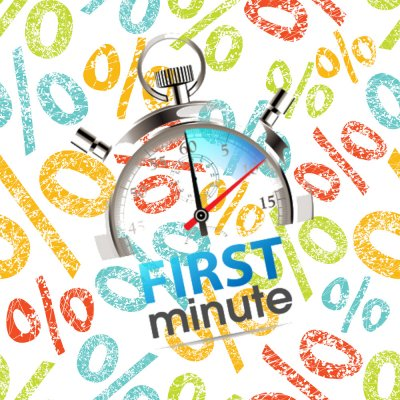 First Minute -  offer super promotion (non-returnable offer)