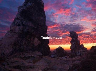 Wandern in der Wanderarena Bodetal - 3 Übernachtungen