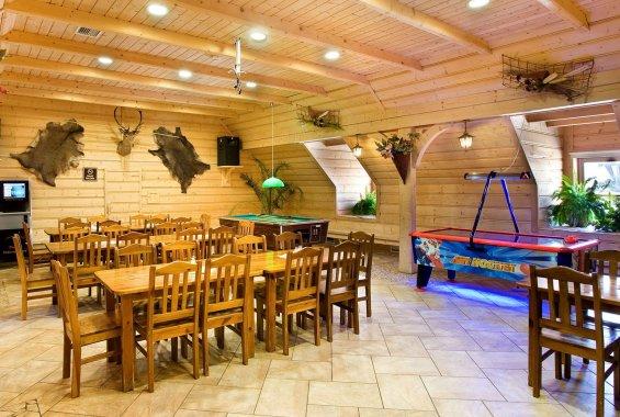 Konferenzhalle im Bania-Wirtshaus
