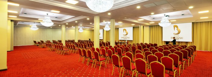 Sala konferencyjna Platinum A+B+C