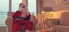 Święta Bożego Narodzenia nad morzem