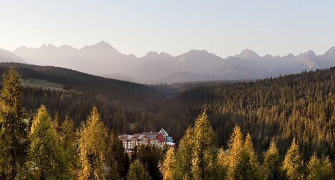 Indian summer by the Tatras