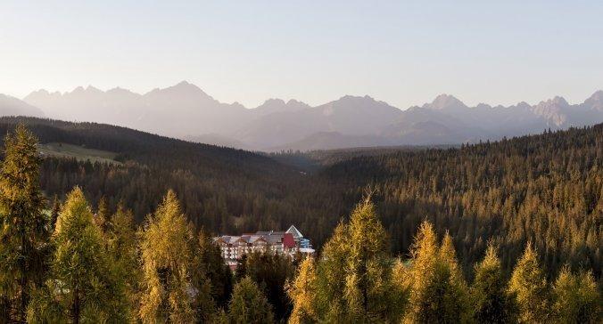 Złota jesień pod Tatrami