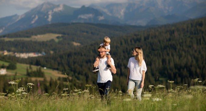 Rodzinne wakacje pod Tatrami