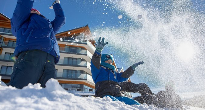 Family winter holidays in the heart of the Tatra Mountains
