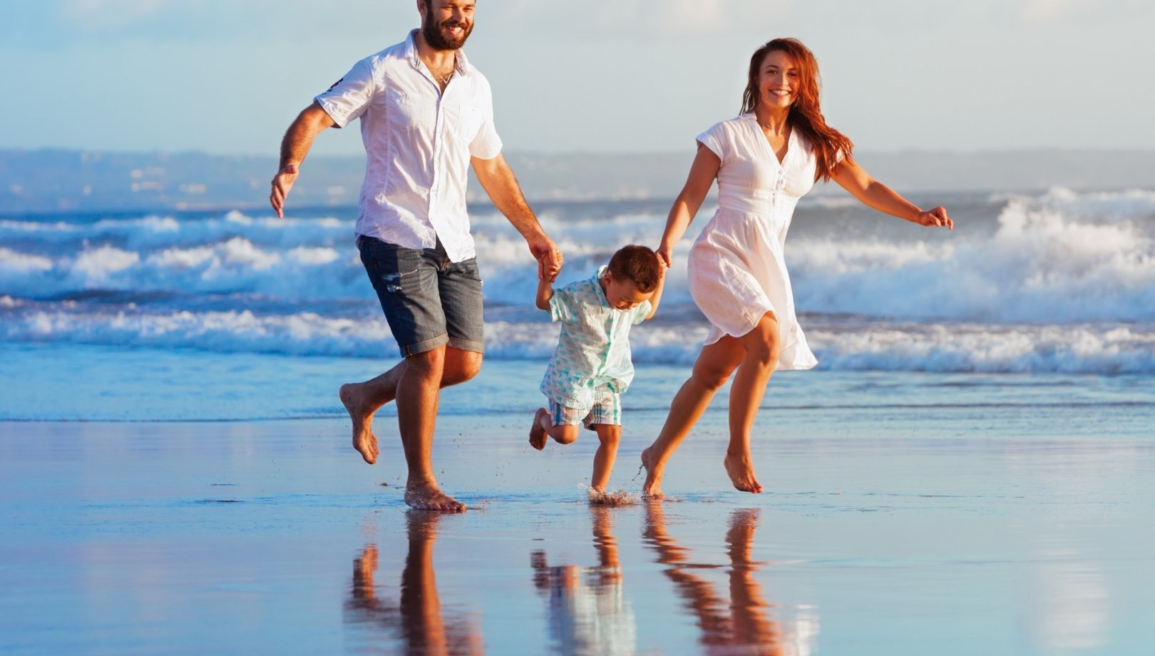 Carefree holiday by the sea