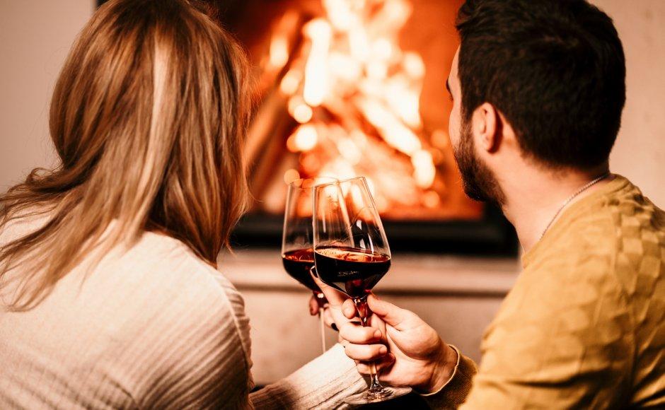 Zostań dłużej  |  Butelka wina w prezencie