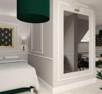 Apartment stilisierte Duplex