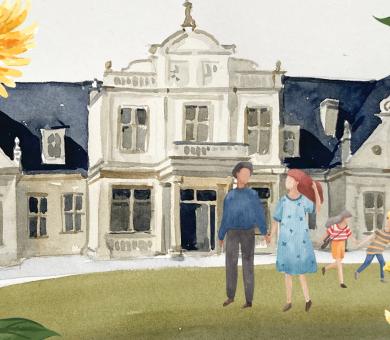 Rodzinny pakiet wakacyjny w zaczarowanym Pałacu Romantycznym (pakiet 4-dniowy)