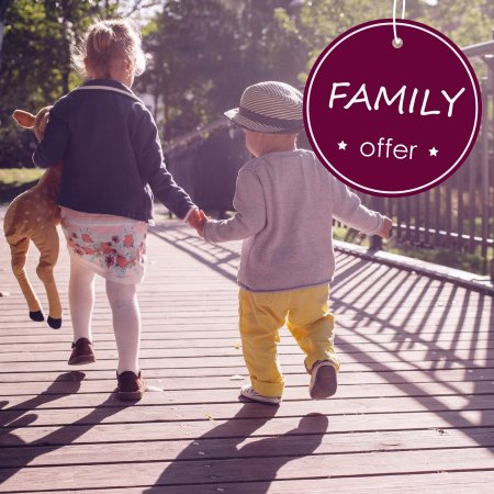 FAMILY OFFER Bed & Breakfast
