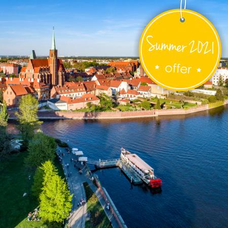 WAKACJE - Lato 2021 we Wrocławiu już od 200pln!