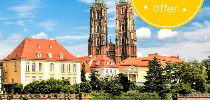 WAKACJE we Wrocławiu - 20% OFF