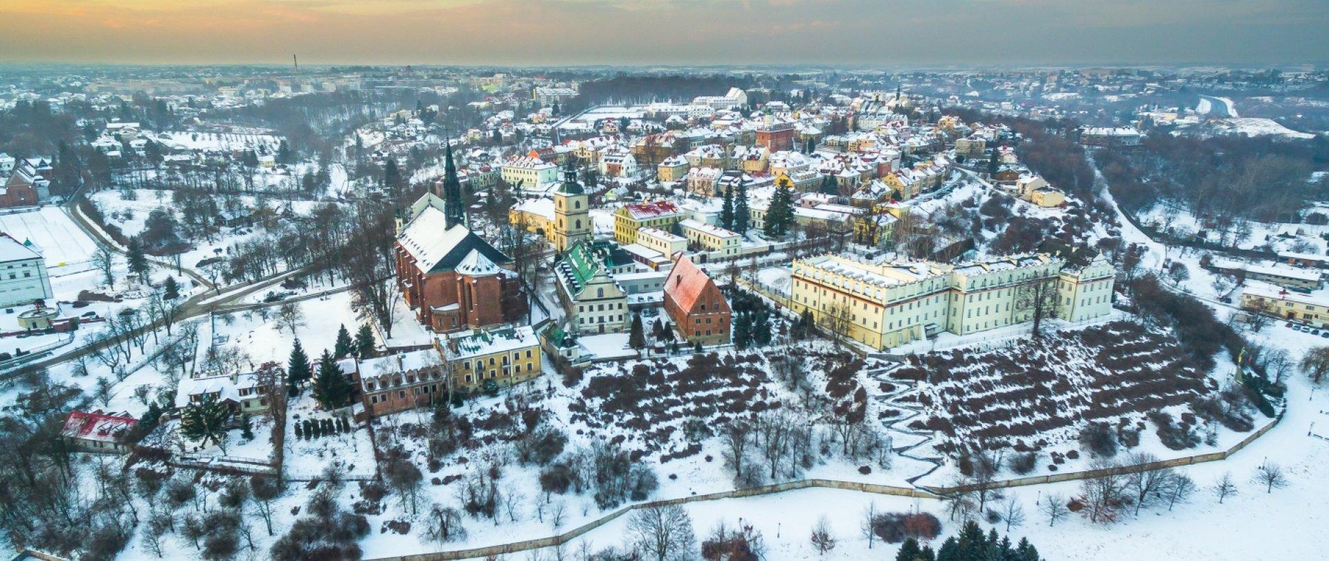 Zima w Sandomierzu