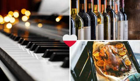 Gęsina, ognisko, pianino i wino! Listopad 2021