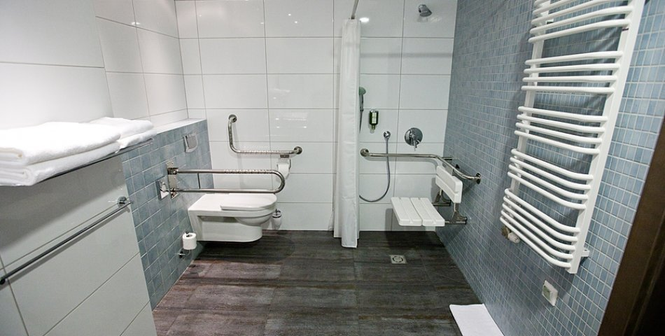 Room for disabled people