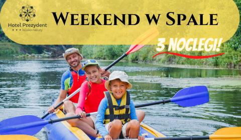 Weekend w Spale - 3 noclegi