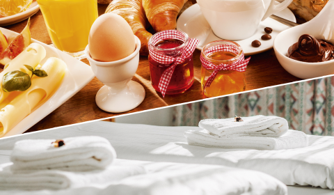 Flexibles Angebot mit Frühstück